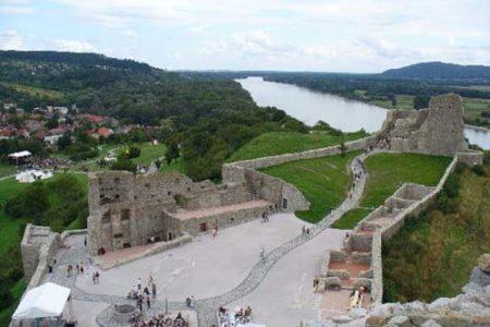 El Castillo Devin, en Bratislava