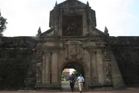 Fuerte Santiago, presencia española en Manila