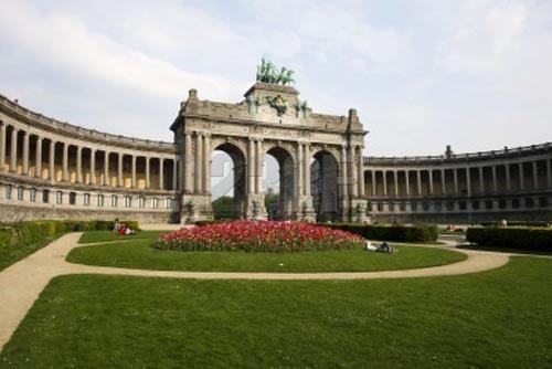 parque del cincuentenario en Bruselas