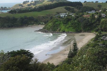 Isla Waiheke, vacaciones frente a Auckland