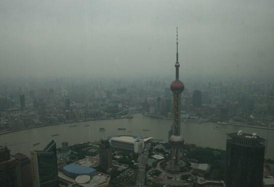 Vistas desde la Torre Jin Mao