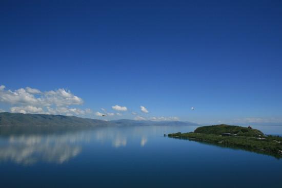 lago-sevan en Armenia