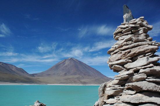 laguna-verde en Bolivia