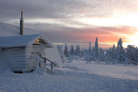 Visitar una mina de amatistas en Laponia