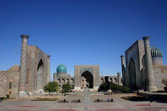 Samarkanda y la ruta de la seda for Samarkanda el tenedor