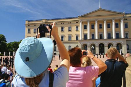 El Cambio de Guardia Real, en Oslo