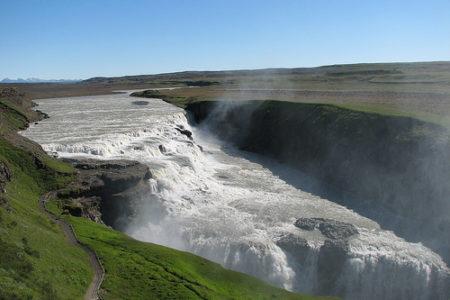 La Catarata Gullfoss, impresionante naturaleza en Islandia