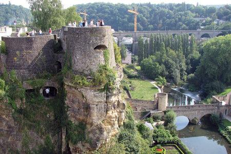 Wenzel Walk, una guía de lugares históricos en Luxemburgo