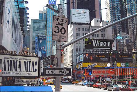 Mini guía de los teatros de Broadway y sus obras