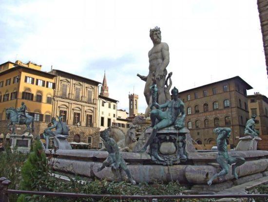 Fuente de Neptuno, Florencia