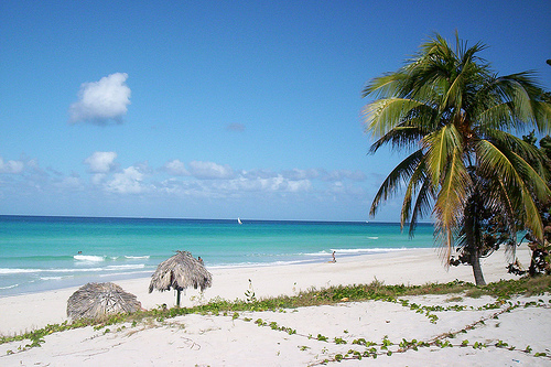 la playa de cuba: