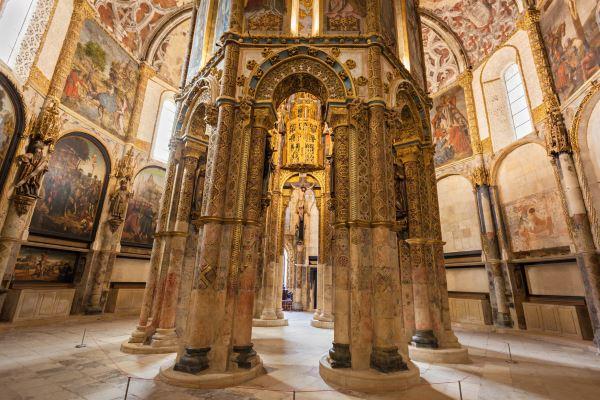 Interior de Convento de Cristo