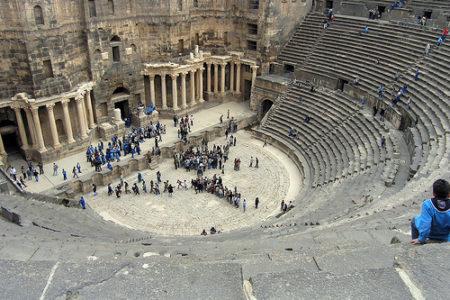 El Teatro romano de Bosra