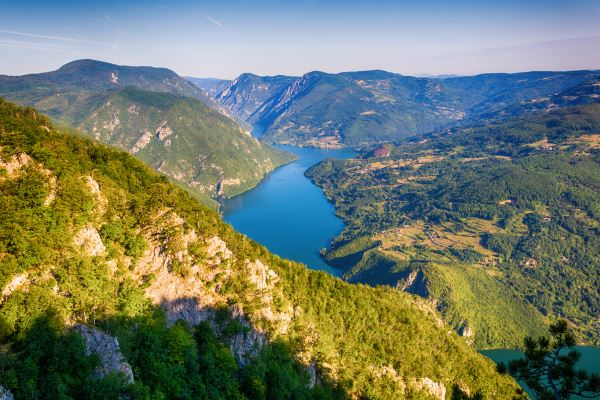 Tara montaña Serbia
