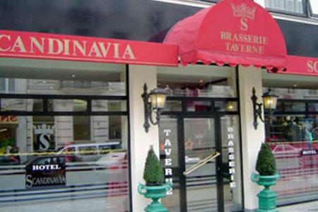 Hotel Scandinavia, en el corazón de Bruselas