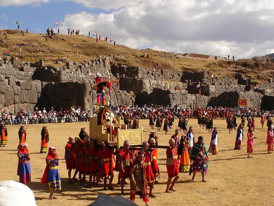 inti raymi en Peru