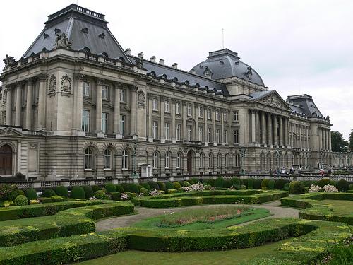 Resultado de imagen de palacio real bruselas