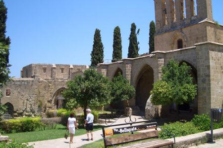Las ruinas de la Abadía de Bellapais