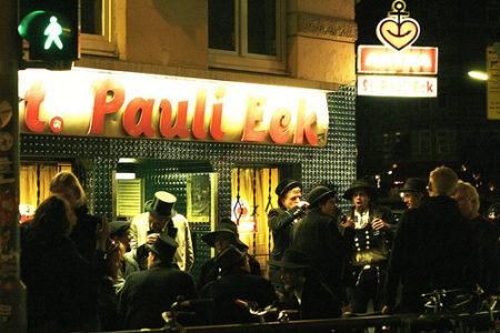 St. Pauli, vida nocturna en Hamburgo