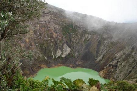 Volcán Irazú, destino turístico en Costa Rica