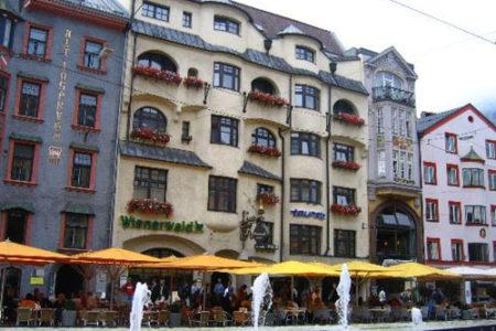 Hotel Breinöessl, en el corazón de Innsbruck