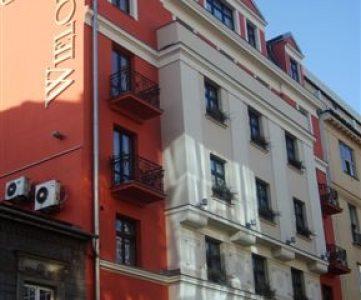 Hotel Wielopole, en el casco histórico de Cracovia