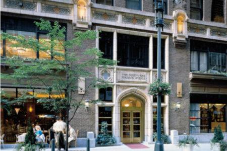 Library Hotel de Nueva York, el encanto de los libros