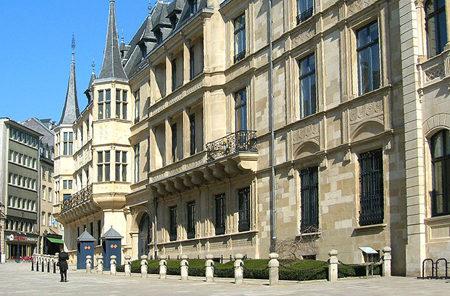El Gran Palacio Ducal de Luxemburgo