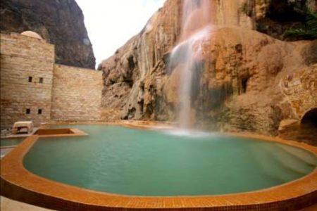 Hammamat Ma'in, aguas termales en Jordania