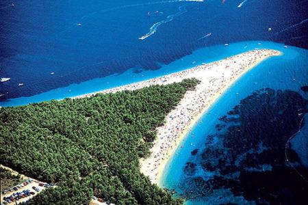 La costa dálmata, en Croacia