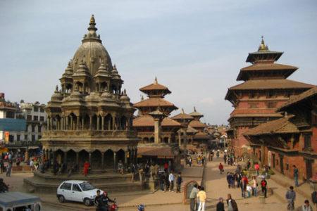 Patan, una de las tres ciudades reales de Nepal
