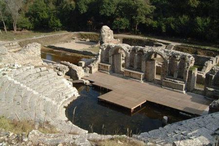Butrint, ruinas arqueológicas en Albania
