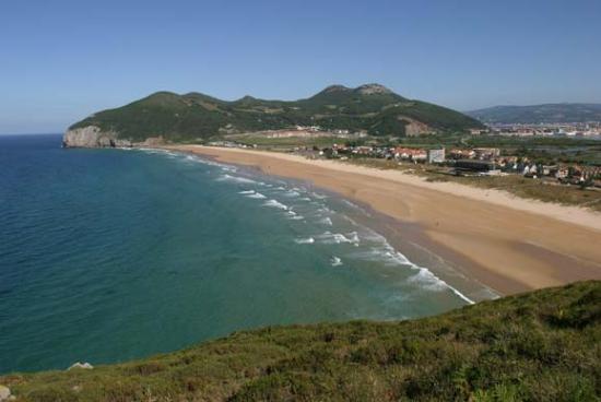 Playa Berria, Santoña