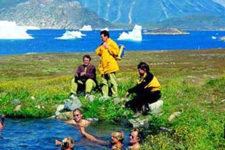 Termas en Groenlandia