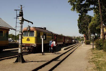 Siaurukas, un tren histórico y turístico en Lituania