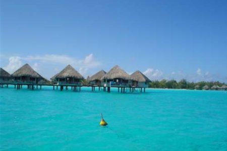 Le Méridien, un hotel en Bora Bora