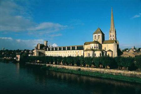 Saint Savin, una antigua abadía cerca de Poitiers