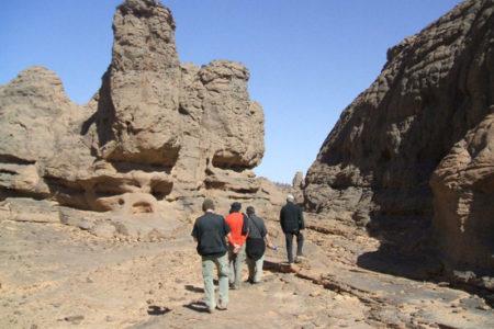 Senderismo en Argelia: el Tassili y la cordillera del Hoggar