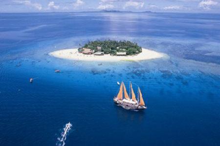 Vacaciones a pleno sol y buceo en las Islas Mamanuca