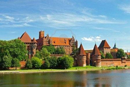 El Castillo de la Orden Teutona, en Polonia