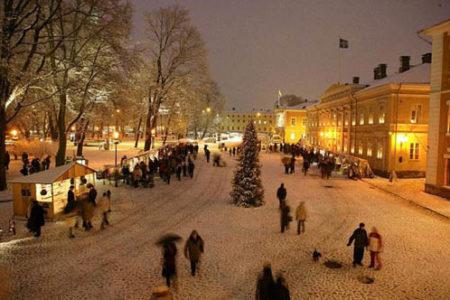 Costumbres de navidad en Finlandia