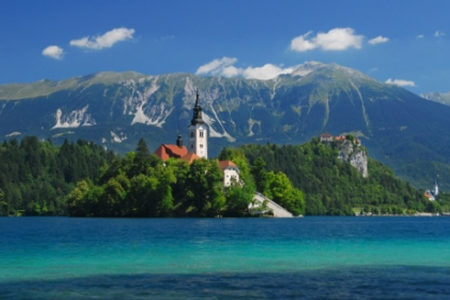Bled, un pueblo esloveno entre montañas
