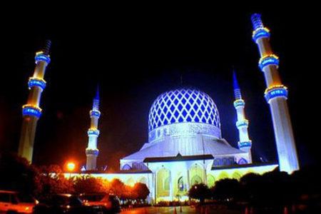 La Mezquita Azul, tesoro en Malasia