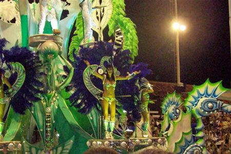 El Carnaval de Gualeguaychú, fiesta en Argentina