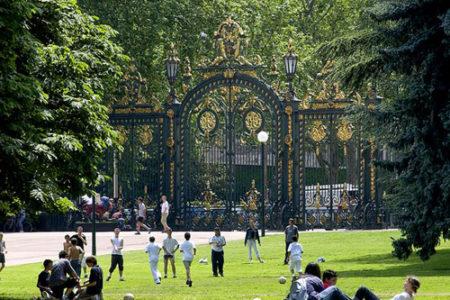 Parc de la Tête d'Or, un paseo en Lyon