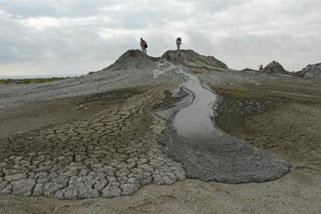 Los volcanes de lodo de Gobustan