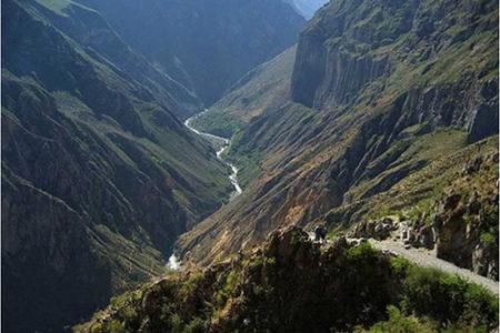 Un paseo por el Cañón del Colca, en Perú