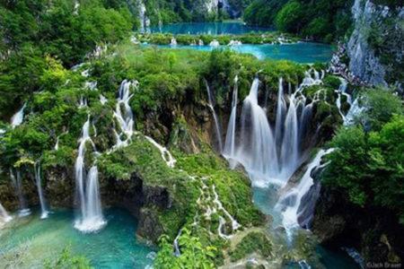 Las Cascadas Plitvice, en Croacia