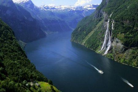 Recorriendo los fiordos noruegos