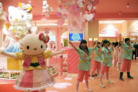 Hello Kitty Kawaii Paradise, en Japón